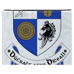 County Monaghan Coat of Arms  Cosmetic Bag (XXXL)