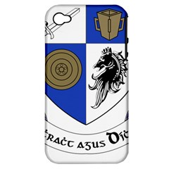 County Monaghan Coat of Arms  Apple iPhone 4/4S Hardshell Case (PC+Silicone)