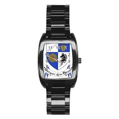 County Monaghan Coat of Arms  Stainless Steel Barrel Watch