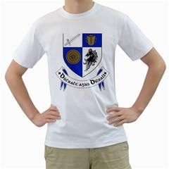 County Monaghan Coat of Arms  Men s T-Shirt (White)