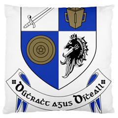 County Monaghan Coat of Arms  Large Flano Cushion Case (One Side)