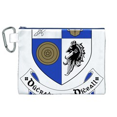 County Monaghan Coat of Arms  Canvas Cosmetic Bag (XL)