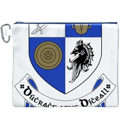 County Monaghan Coat of Arms  Canvas Cosmetic Bag (XXXL)