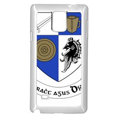 County Monaghan Coat of Arms  Samsung Galaxy Note 4 Case (White)