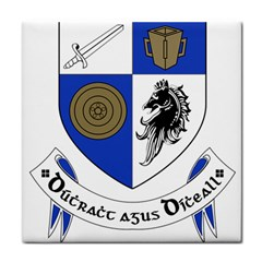 County Monaghan Coat of Arms Tile Coasters
