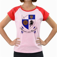 County Monaghan Coat of Arms Women s Cap Sleeve T-Shirt