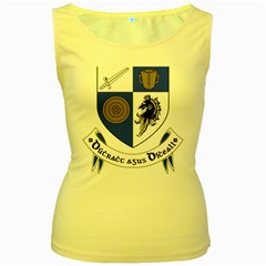 County Monaghan Coat of Arms Women s Yellow Tank Top