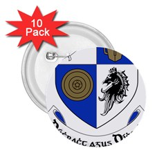 County Monaghan Coat of Arms 2.25  Buttons (10 pack)