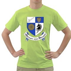 County Monaghan Coat of Arms Green T-Shirt