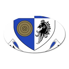 County Monaghan Coat of Arms Oval Magnet