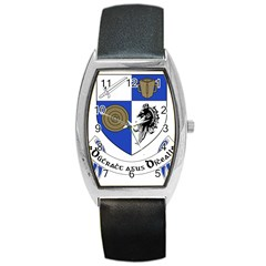 County Monaghan Coat of Arms Barrel Style Metal Watch