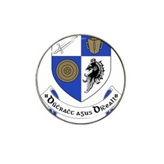 County Monaghan Coat of Arms Hat Clip Ball Marker (4 pack)