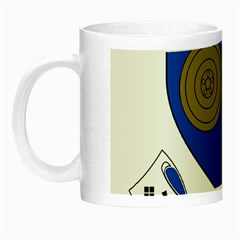 County Monaghan Coat of Arms Night Luminous Mugs