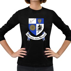 County Monaghan Coat of Arms Women s Long Sleeve Dark T-Shirts