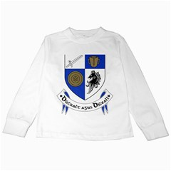 County Monaghan Coat of Arms Kids Long Sleeve T-Shirts