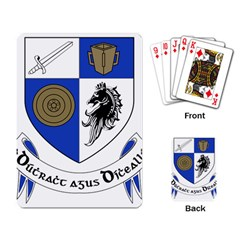 County Monaghan Coat of Arms Playing Card