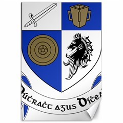 County Monaghan Coat of Arms Canvas 20  x 30