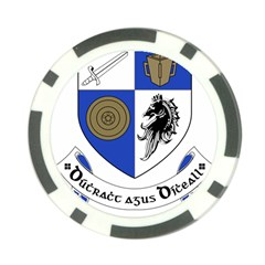 County Monaghan Coat of Arms Poker Chip Card Guard (10 pack)