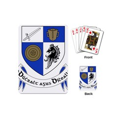 County Monaghan Coat of Arms Playing Cards (Mini)