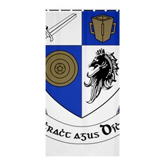 County Monaghan Coat of Arms Shower Curtain 36  x 72  (Stall)