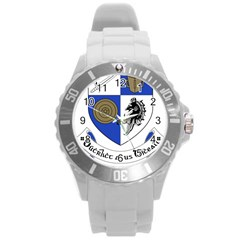 County Monaghan Coat of Arms Round Plastic Sport Watch (L)