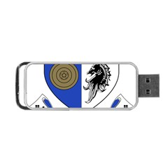 County Monaghan Coat of Arms Portable USB Flash (Two Sides)