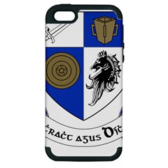 County Monaghan Coat of Arms Apple iPhone 5 Hardshell Case (PC+Silicone)