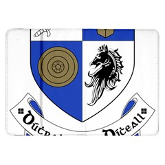 County Monaghan Coat of Arms Samsung Galaxy Tab 8.9  P7300 Flip Case