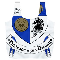 County Monaghan Coat of Arms Full Print Recycle Bags (L)