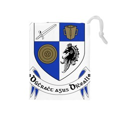 County Monaghan Coat of Arms Drawstring Pouches (Medium)