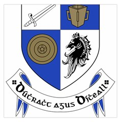 County Monaghan Coat of Arms Large Satin Scarf (Square)