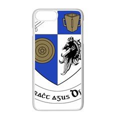 County Monaghan Coat of Arms Apple iPhone 7 Plus White Seamless Case