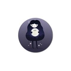Moon Golf Ball Marker