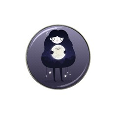 Moon Hat Clip Ball Marker (4 pack)