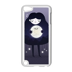Moon Apple iPod Touch 5 Case (White)