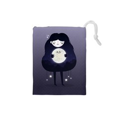 Moon Drawstring Pouches (Small)