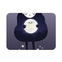 Moon Double Sided Flano Blanket (Mini)