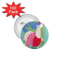 Unicorn 1.75  Buttons (100 pack)