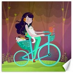 Bikeride Canvas 16  x 16