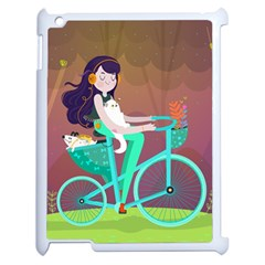 Bikeride Apple Ipad 2 Case (white)
