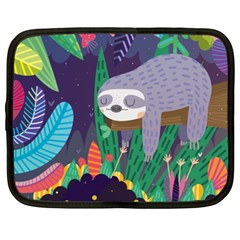 Sloth in nature Netbook Case (XXL)
