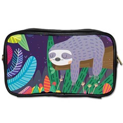 Sloth in nature Toiletries Bags