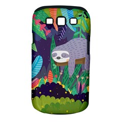 Sloth in nature Samsung Galaxy S III Classic Hardshell Case (PC+Silicone)