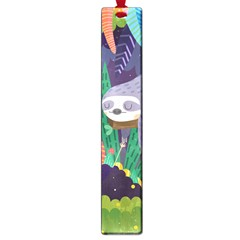 Sloth in nature Large Book Marks