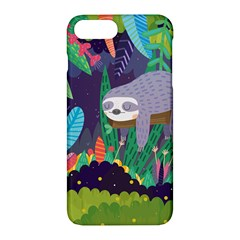Sloth In Nature Apple Iphone 7 Plus Hardshell Case