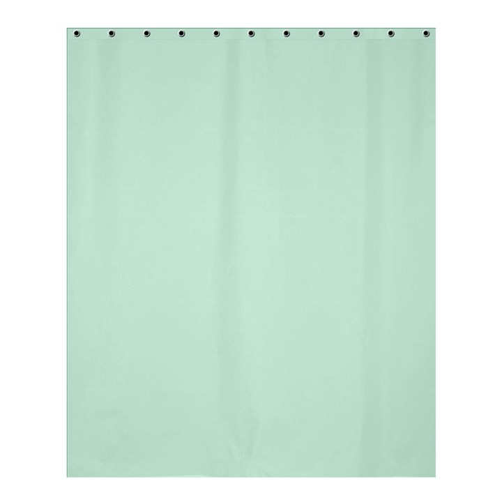 Pastel Color - Light Greenish Gray Shower Curtain 60  x 72  (Medium)
