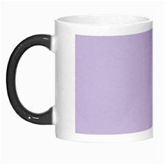Pastel Color - Light Violetish Gray Morph Mugs