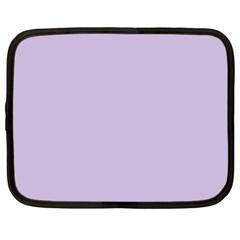 Pastel Color - Light Violetish Gray Netbook Case (XL)