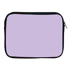Pastel Color - Light Violetish Gray Apple iPad 2/3/4 Zipper Cases