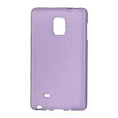 Pastel Color - Light Violetish Gray Galaxy Note Edge
